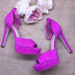 Jessica Simpson Pink Platform Heels 9M